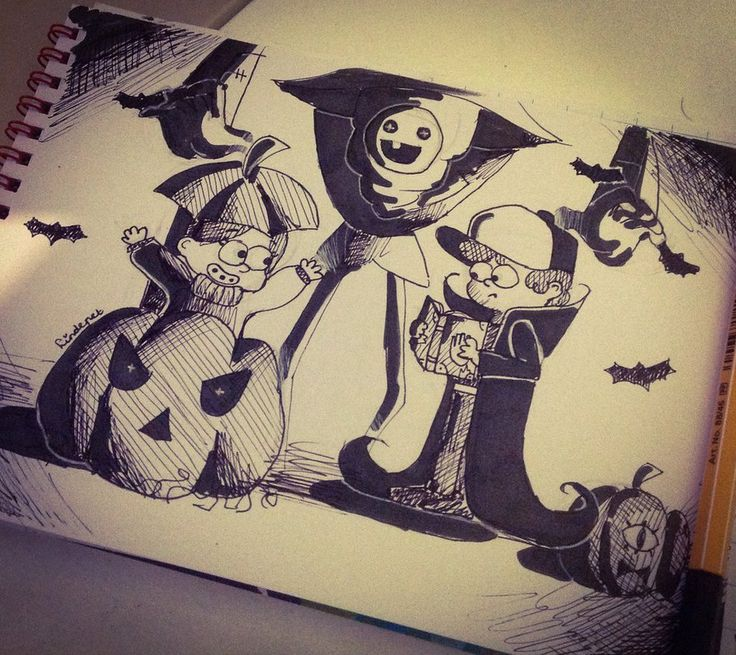 -Halloween Surprise- by lindepet.deviantart.com on @DeviantArt
