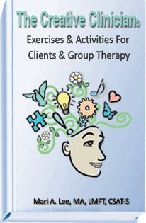 By Therapist and Author Mari A. Lee, LMFT, CSAT-S, e-workbook is chock full of supportive activities and includes 31 of Mari's most popular exercises for individuals, couples, and groups Each exercise includes instructions and graphics and is available in an organized, professional, PDF E-Book in a printable format for easy access in order for you, the therapist, to print, keep on file, and use over and over again in your own practice for years to come.