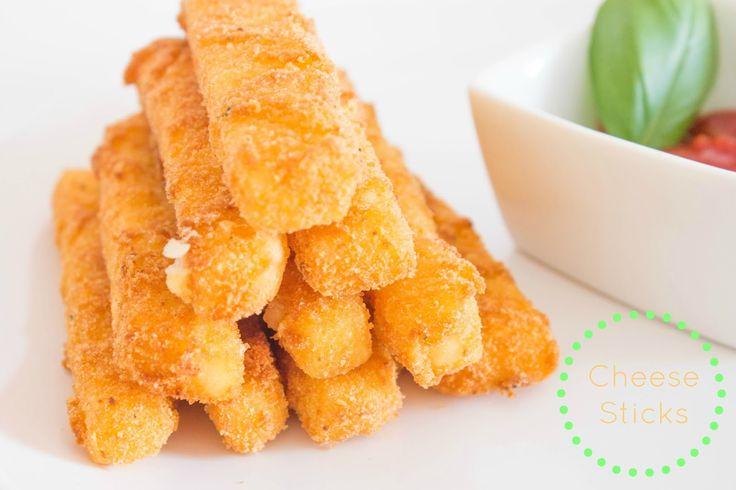No Conforto da Minha Cozinha...: Cheese Sticks...que é como quem diz queijo panado!...