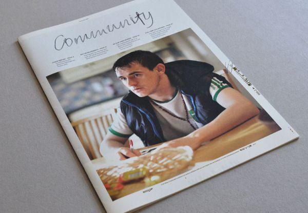 Cork Simon Community - Annual Report 2012 by Eoin Cummins, via Behance