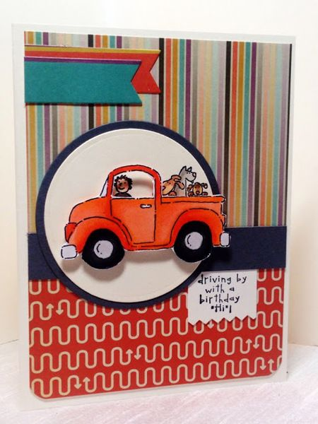 Joy Ride by AmylovesNormaJean - Cards and Paper Crafts at Splitcoaststampers