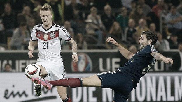 Eurocopa Francia 2016: Alemania dio su lista final sin Marco Reus. 5/31/16
