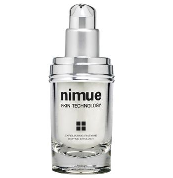 Environmentally Damaged Range Product 6: Exfoliating Enzyme. A combination of Papaya and Pineapple enzymes in a non abrasive gel base detach dead skin cells gently and promote cell renewal. Available as a refill. 60ml. Nimue Skin Technology.
