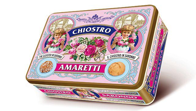 Chiostro Amaretti - Lazzaroni - Restyling di Packaging In Italy, Packaging Funzionale, Packaging Italiano