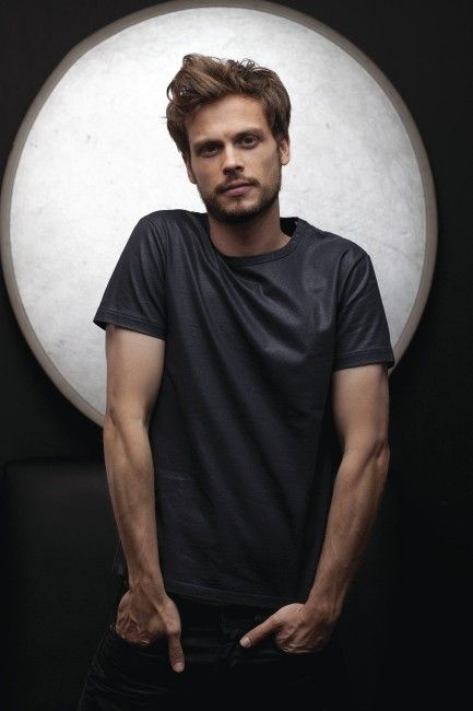 Matthew Gray Gubler.  Cannot get enough of him, he is more than just a nerd ;)  The guy is hilarious in interviews, and has absolutely perfect bone structure!