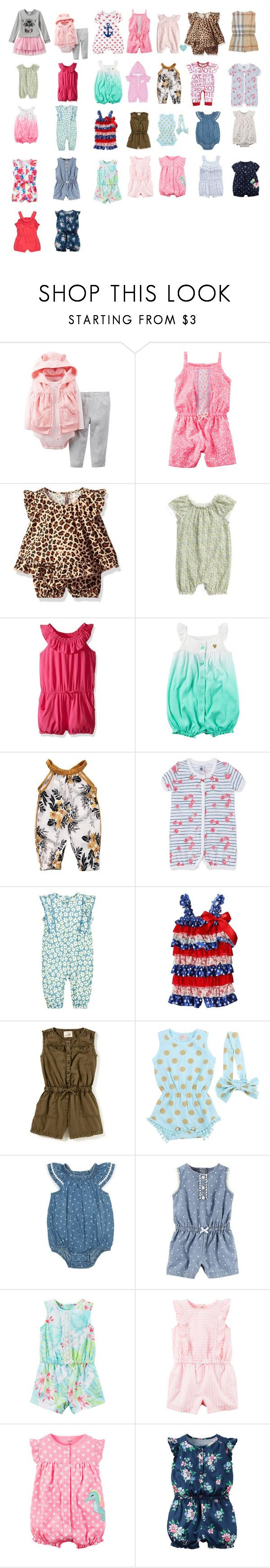 """June"" by ctownend04 ❤ liked on Polyvore featuring Carter's, The Children's Place, Burberry, Kissy Kissy, STELLA McCARTNEY and Jordache"