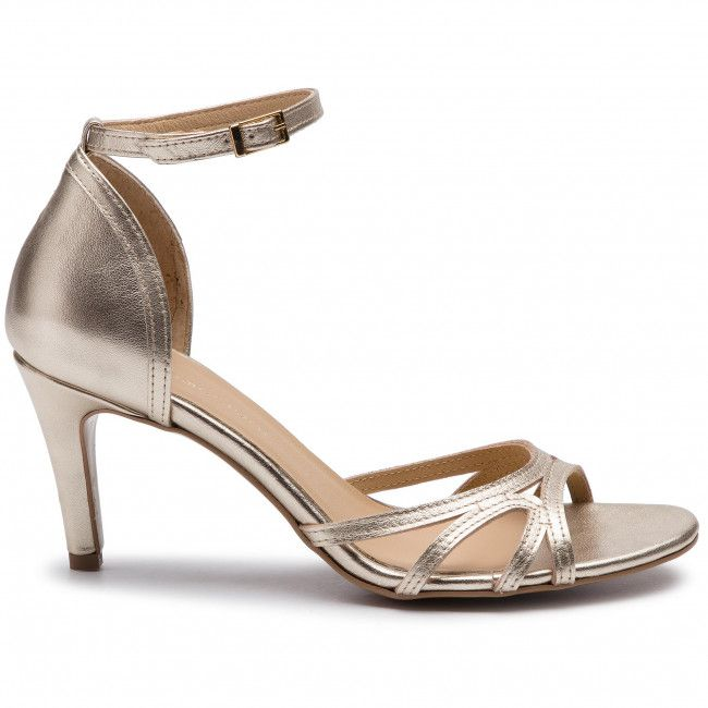 Sandaly Maccioni 913 450 8215 Zloty Sandaly Eleganckie Sandaly Klapki I Sandaly Damskie Www Eobuwie Com Pl Heels Shoes Kitten Heels