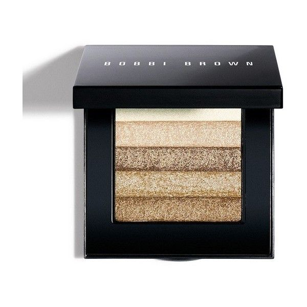 Bobbi Brown Shimmer Brick Compact Beige ($48) ❤ liked on Polyvore featuring beauty products, makeup, cheek makeup, blush, beauty, beige, blush & bronzers, blending brush, blender brush and bobbi brown cosmetics