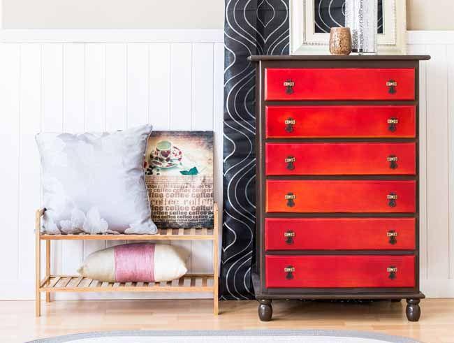 Las 25 mejores ideas sobre cajoneras de pino en pinterest - Con que pintar muebles de pino ...