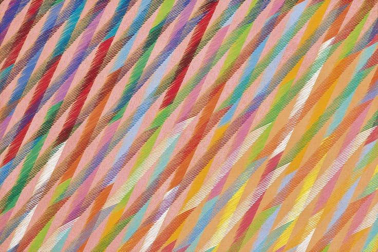 Piero Dorazio-Saint Soleil,1989, Öl auf Leinwand, 80 x 120 cm