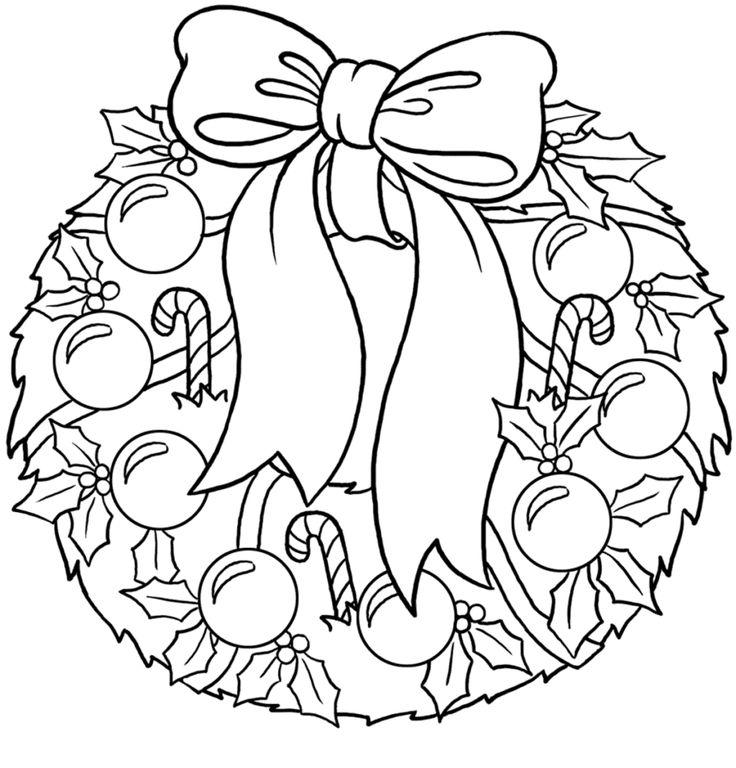 (+1) Рождественские раскраски