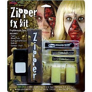 Halloween Halloween Speciale Effecten Make-up - Zipper Horror Kit