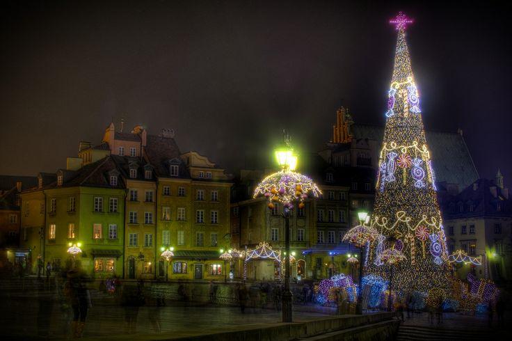 fot. ffalco #christmas #christmastree #Warszawa #Warsaw #Warsawoldtown