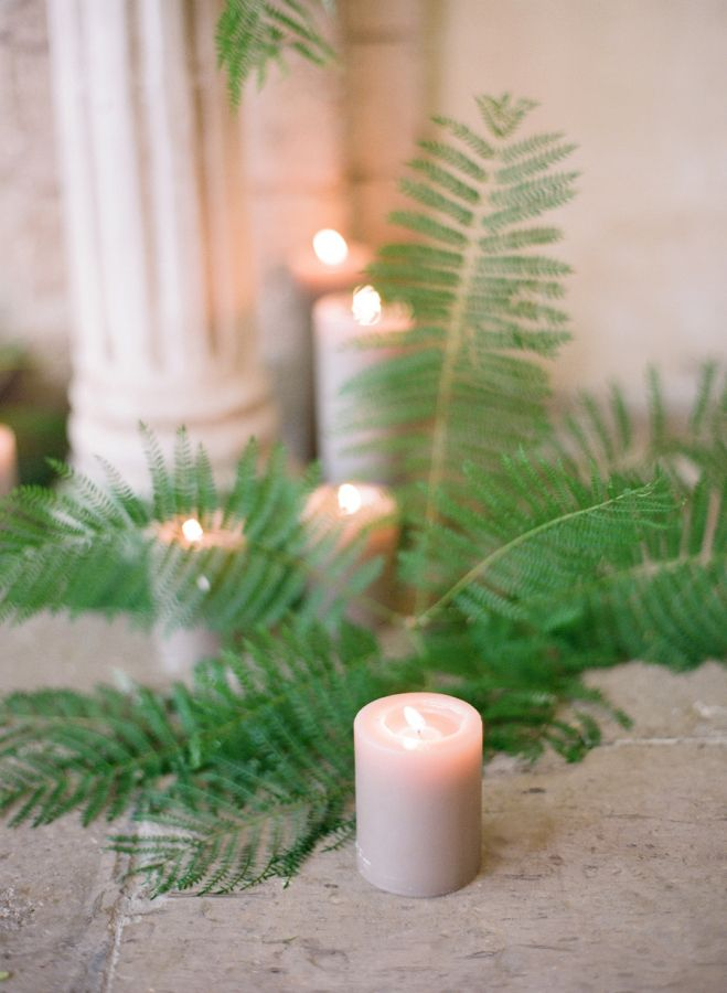 Quick Tip: Bring The Forest Floor Indoors: http://www.stylemepretty.com/2015/10/07/quick-tip-bring-the-forest-floor-indoors/ | Photography: Jose Vila