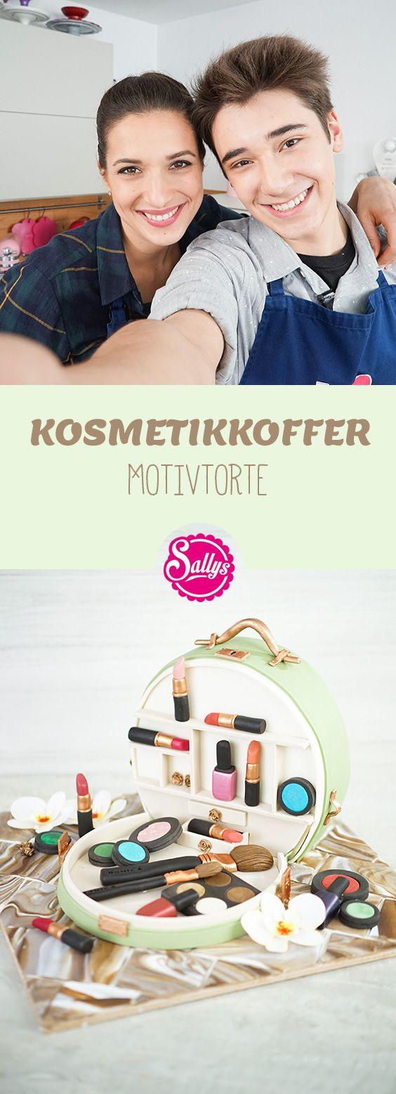 KOSMETIKKOFFER – eine Motivtorte für Olivers Mutter .  Sally backt auf VOX!