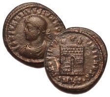 CONSTANTINE II 325-326 AD Æ Roman Bronze Coin Cyzicus Mint