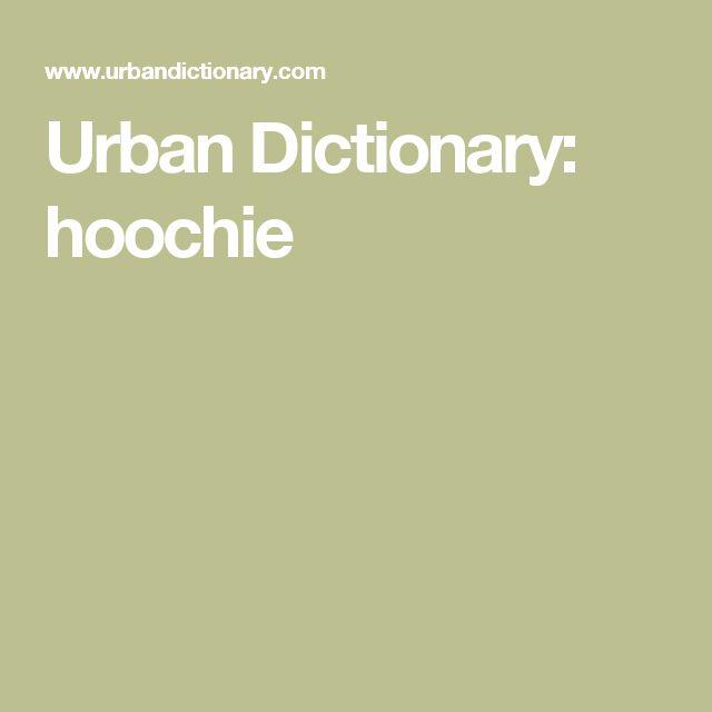 Urban Dictionary: hoochie