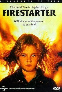 Firestarter (1984) A couple who participated in a potent medical experiment gain telekinetic ability and then have a child who is pyrokinetic. Drew Barrymore, David Keith, Freddie Jones...12a