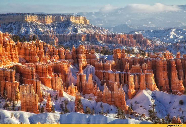 красивые картинки,Природа,красивые фото природы: моря, озера, леса,пейзаж,национальный парк,Брайс-Каньон,Штат Юта,США,под катом еще