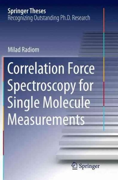 Correlation Force Spectroscopy for Single Molecule Measurements