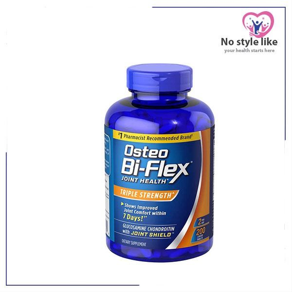 Osteo Bi Flex Triple Strength 200 Tab الأقوي لدعم المفاصل Joint Health Glucosamine Chondroitin