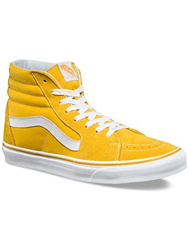 Vans Hi Suede Canvas Spectra Yellow/True White Womens). Find this Pin and  more on Vans Shoes ...