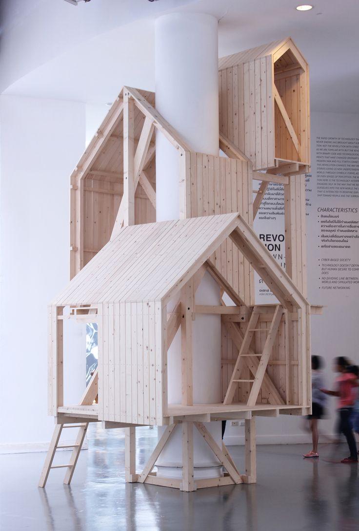boomhut idee meerdere verdiepingen