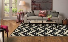Best Latest Black And White Chevron Area Rug Review