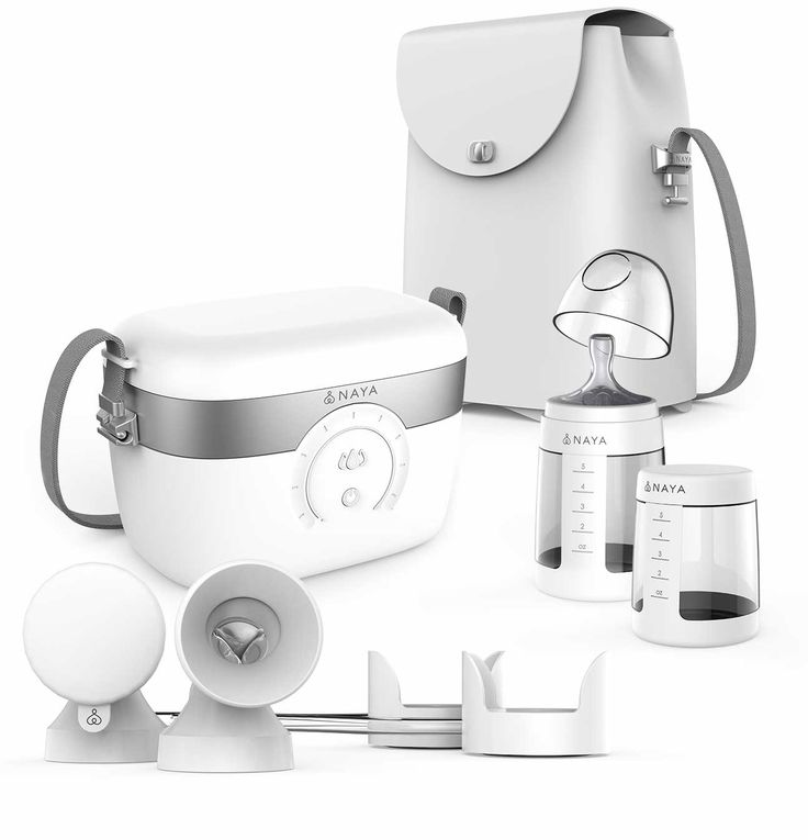 The Naya Smart Breast Pump is a hospital-grade double electric breast pump that uses water instead of air to gently help you release milk quickly.