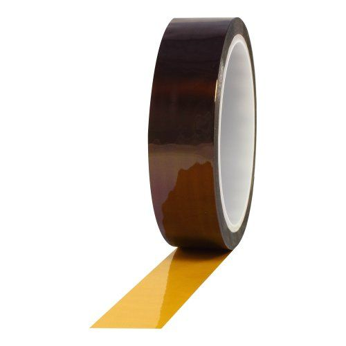 "Protapes Pro 950As Anti-Static Polyimide Film Tape, 7500V Dielectric Strength, 36 Yds Length X 1/4"" Width (Pack Of 1), 2015 Amazon Top Rated High Temperature Tape #BISS"