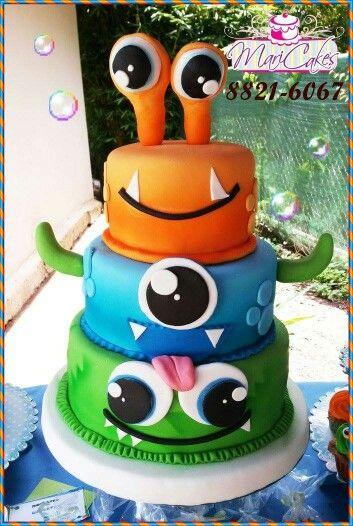 Monters cake