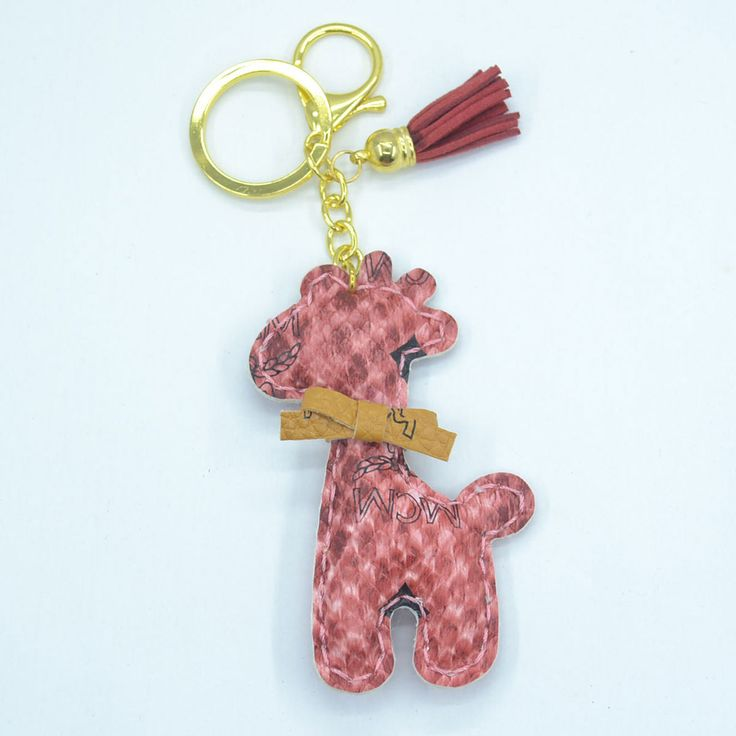fawn animal key chains