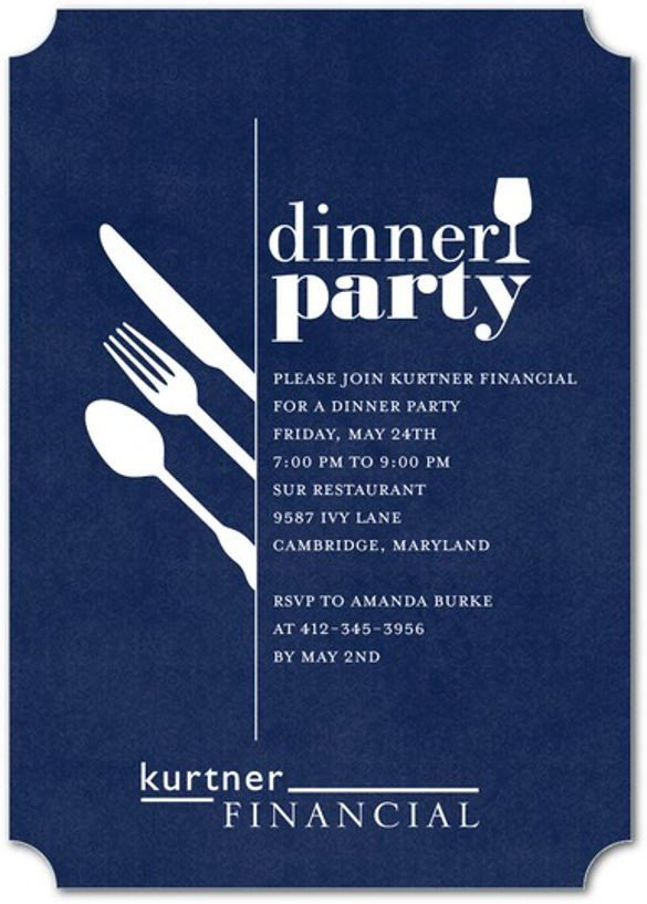30 Dinner Party Invitation Templates 2020 Corporate Party