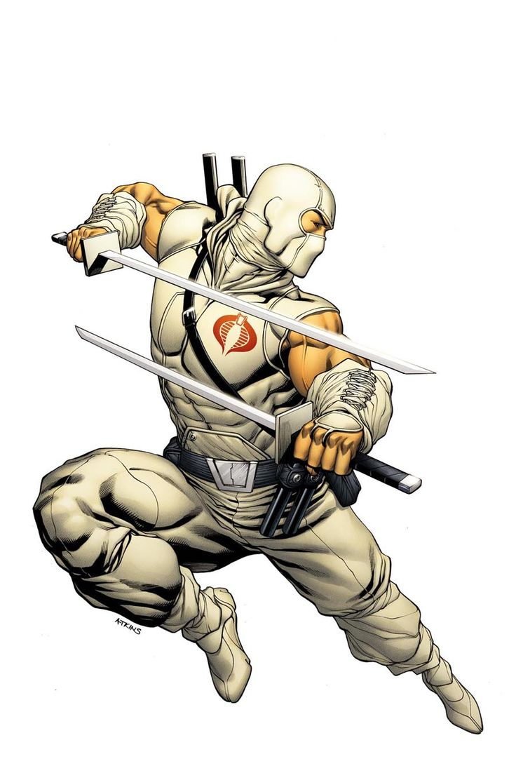 Storm Shadow - G.I. Joe by Robert Atkins