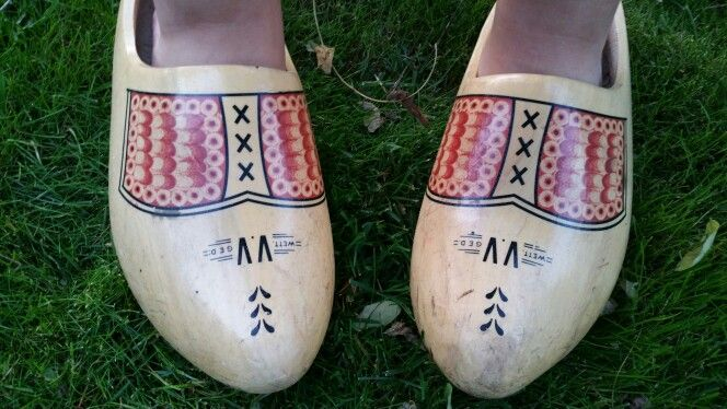 My wooden clogs! (And yes, I wear them :))