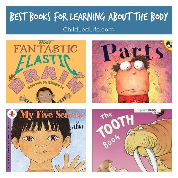 Learning about the body is a REALLY important lesson for your kids! Check out this book list to start the conversation about healthy living.