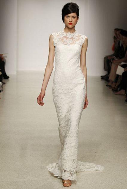 Colecção de Amsale 2013 para noivas, apresentada na NY Bridal Fashion Week [Foto]