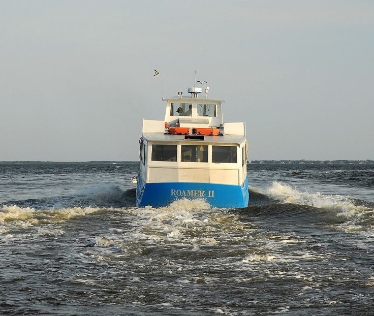 Fire Island Ny: Roamer II...Ferry To Fire Island, Long Island, NY