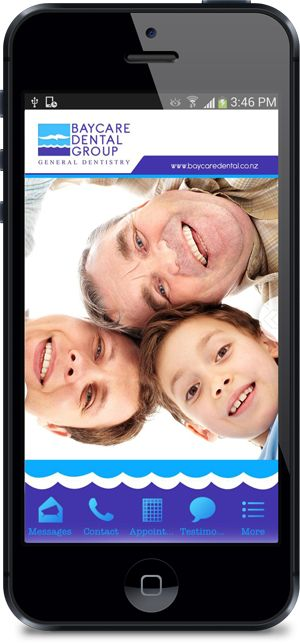 Mobile App for Baycare Dental Created by MobileAppFx