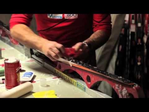 Smørekurs 7: Glider på klassiske ski - YouTube