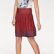 Ищете летнюю юбку? Советуем купить модель от Aniston в нашем интернет-магазине одежды! Трендовый узор, актуальные цвета, приятное для тела джерси, широкий притачной пояс-стрейч - все основательно продумано. Для создания яркого наряда достаточно дополнить эту короткую юбку однотонным топом и босоножками. Длина ок. 50 см. за 1899р.- от Otto