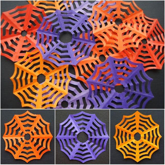 Tutoriel comment faire une toile d 39 araign e kirigami for Toile d araignee decoration