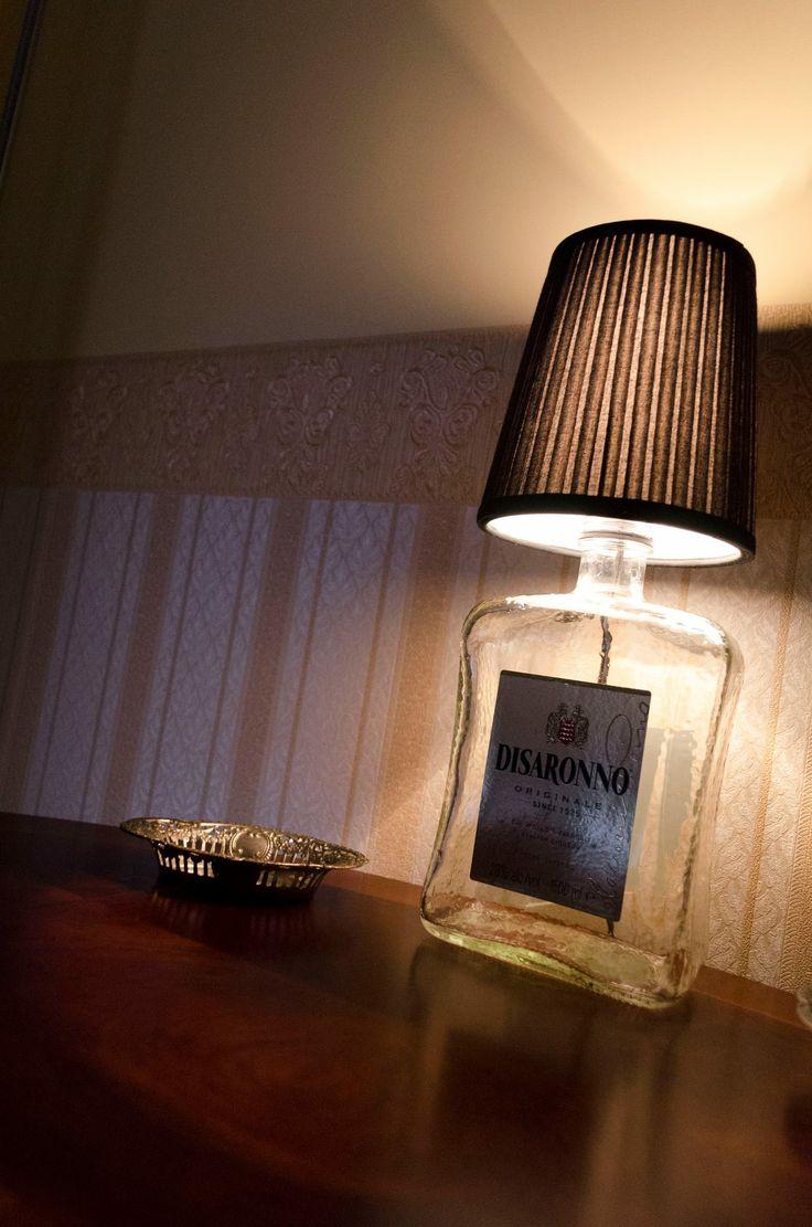DISARONNO lamp a GM design LAB. creation enjoy your design ;-)  www.facebook.com/gmdesignlab