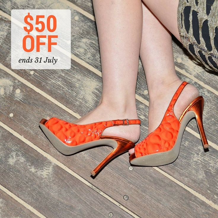 $50 OFF EXTENDED TO 31 JULY! All good things must come to an end, but due a group of loyal Scarletto's Sisters calling to let me know that they have been away until today, we are extending our $50 OFF ALL SHOES until midnight 31 July 2016. That's this Sunday night, so if you haven't already, please don't miss this superb offer. Simply use code JULY50 at the checkout to redeem this lovely discount.  #shoesale