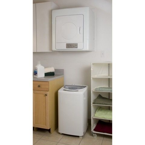 Haier 2.5 cu. ft. Portable Electric Dryer - HLP141E White. Investing in these items for my apartment. I don't trust basements.