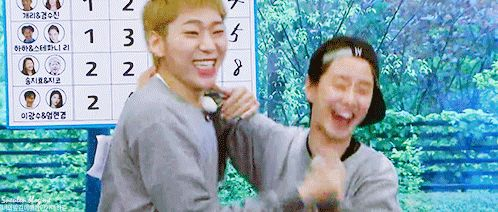 Song Ji Hyo and Zico, Running Man ep. 299