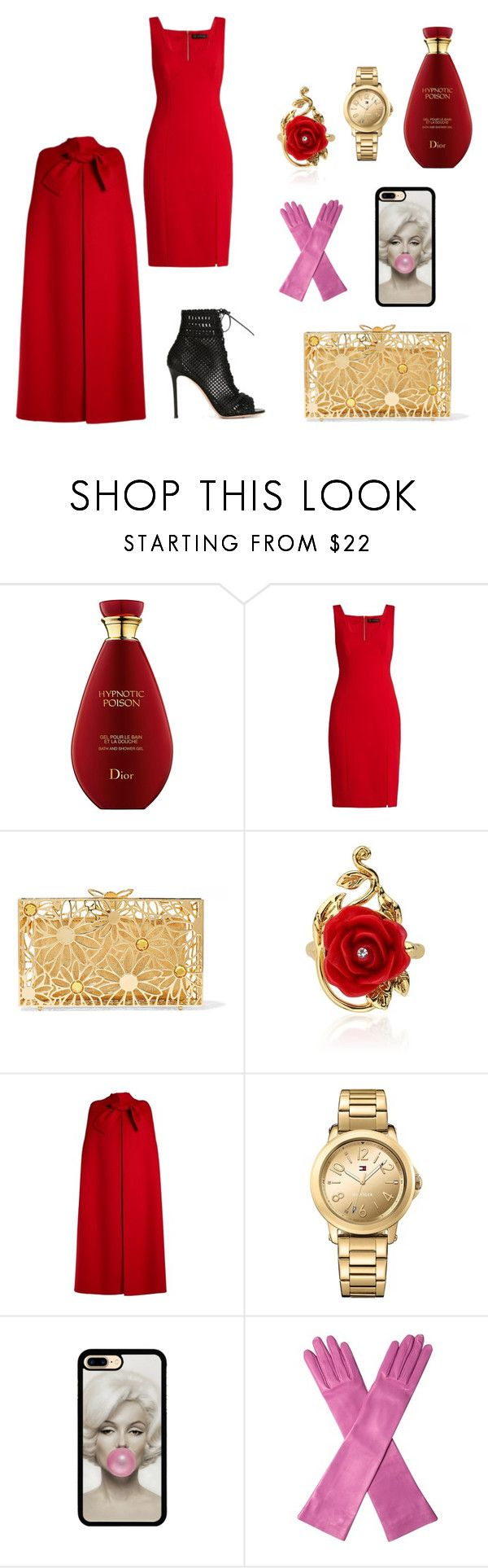 """Vamp with a sense of humor"" by explorer-14792500929 on Polyvore featuring мода, Versace, Charlotte Olympia, Disney, Valentino, Tommy Hilfiger, Gucci и Gianvito Rossi"