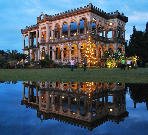 Ruins in Negros Occidental, Philippines