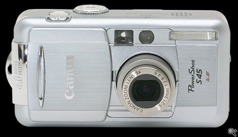 Canon Powershot S45. This was my first digital camera. A good compromise between easy shooting and manual camera controls. The sensor made perfect noise free pictures. Far better than many newer models with >10 mpixel cameras are able to do today.