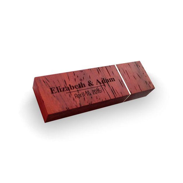 USB-Sticks - USB stick brautpaa mit gravur | Holz 64GB USB 3.0 - ein Designerstück von ZaNa-Design bei DaWanda